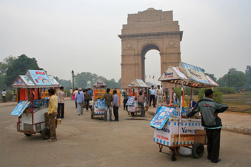 ce Cream At India Gate