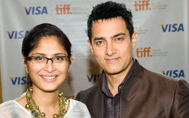 Aamir Khan And His Wife Kiran Rao