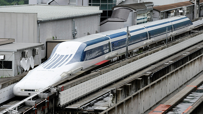 Maglev Bullet Train