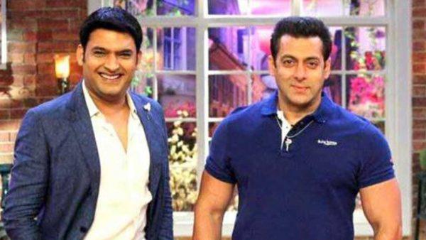 Kapil and  Salman Khan
