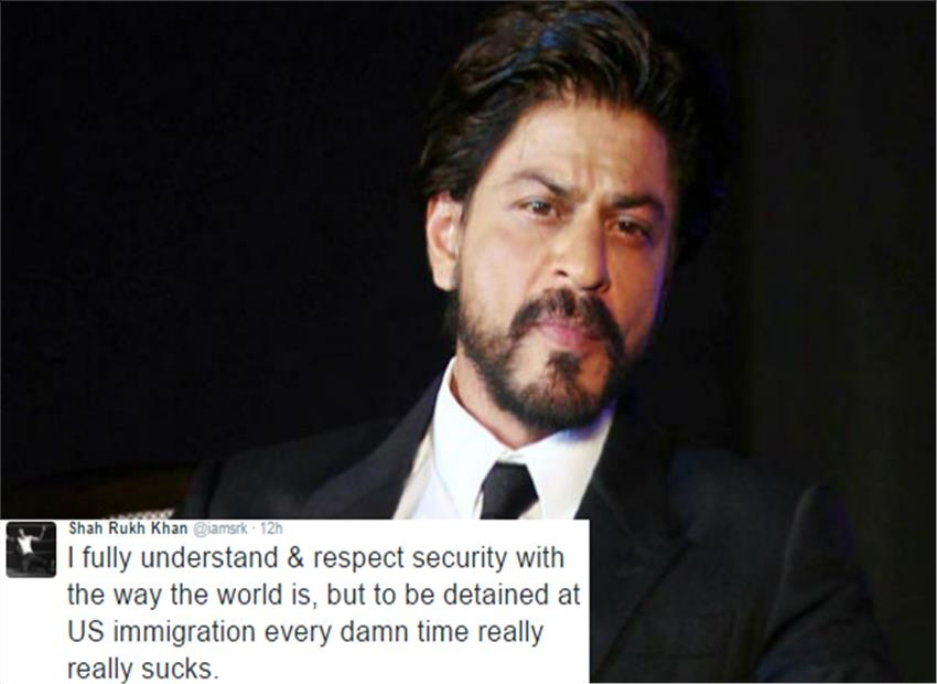 Shahrukh Khan Detained At Airport Once Again