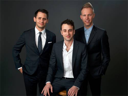 Justin Hurwitz, Benj Pasek and Justin Paul for 'La La land'